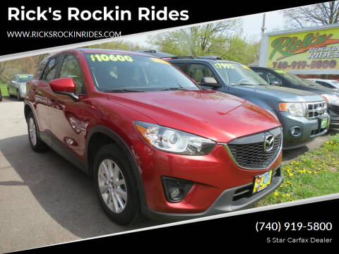 2013 Mazda CX-5 for sale at Rick's Rockin Rides in Reynoldsburg OH