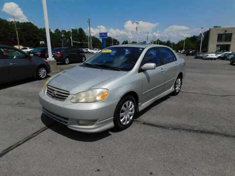 2004 Toyota Corolla for sale at Paniagua Auto Mall in Dalton GA