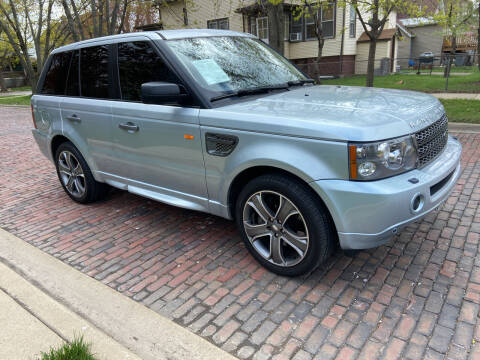 2006 Land Rover Range Rover Sport for sale at RIVER AUTO SALES CORP in Maywood IL