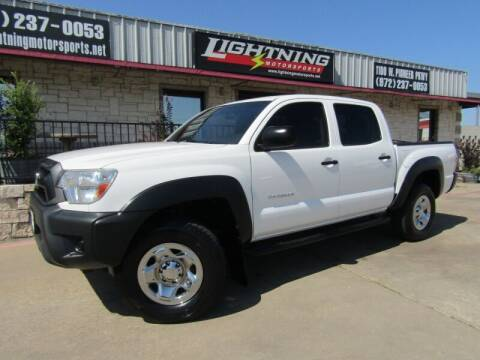 2014 Toyota Tacoma for sale at Lightning Motorsports in Grand Prairie TX