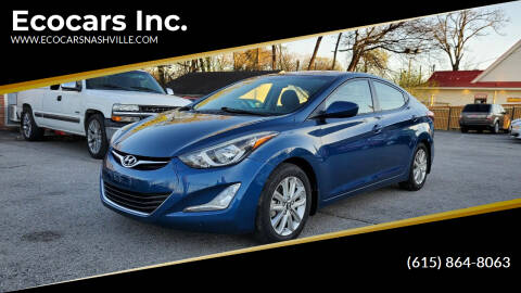 2015 Hyundai Elantra for sale at Ecocars Inc. in Nashville TN