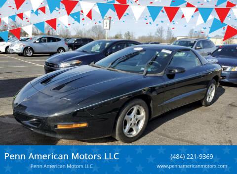 1997 Pontiac Firebird for sale at Penn American Motors LLC in Allentown PA