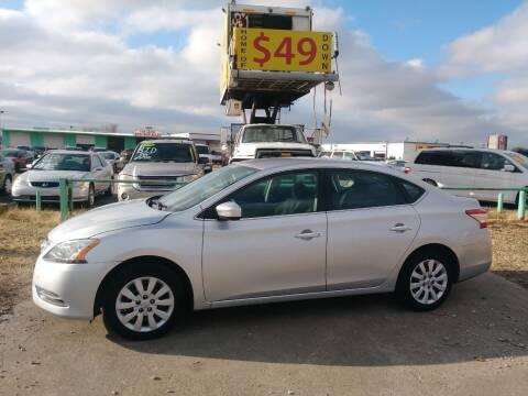 2014 Nissan Sentra for sale at USA Auto Sales in Dallas TX