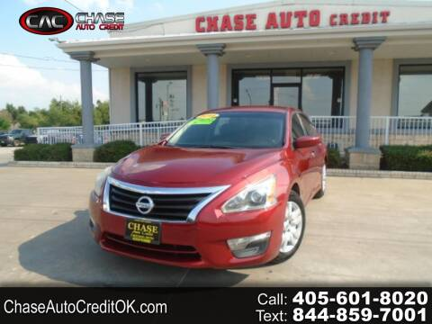 2014 Nissan Altima for sale at Chase Auto Credit in Oklahoma City OK
