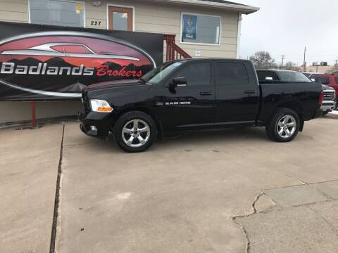 2012 RAM Ram Pickup 1500 for sale at Badlands Brokers in Rapid City SD