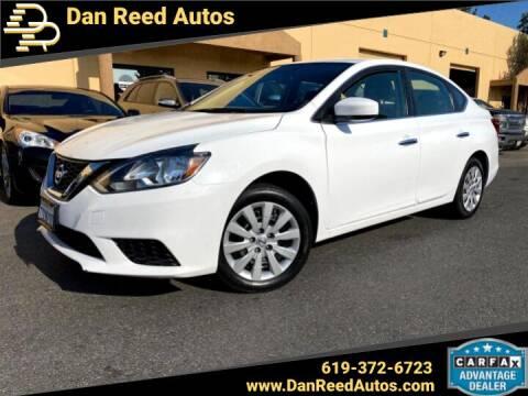 2016 Nissan Sentra for sale at Dan Reed Autos in Escondido CA