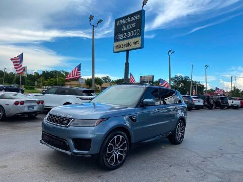 2018 Land Rover Range Rover Sport for sale at Michaels Autos in Orlando FL