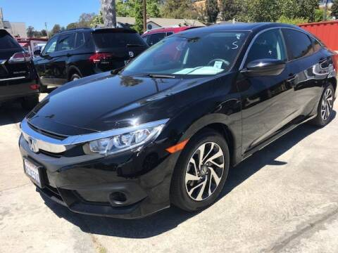 2018 Honda Civic for sale at MISSION AUTOS in Hayward CA
