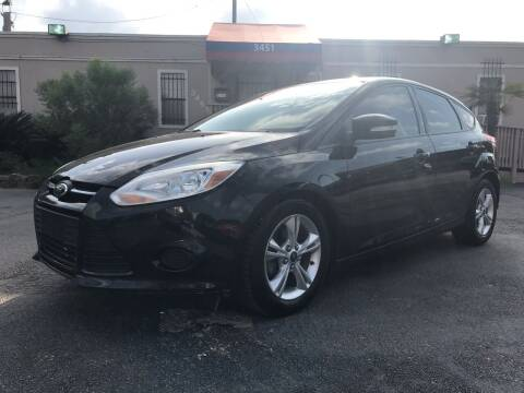 2013 Ford Focus for sale at Saipan Auto Sales in Houston TX