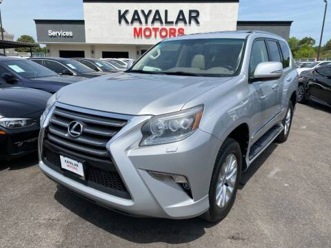 2014 Lexus GX 460 for sale at KAYALAR MOTORS in Houston TX