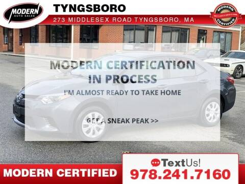 2016 Toyota Corolla for sale at Modern Auto Sales in Tyngsboro MA