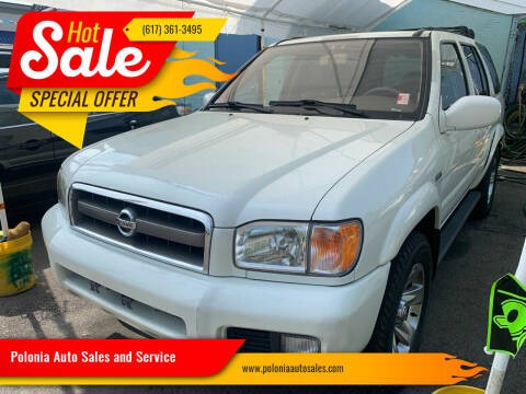 2004 Nissan Pathfinder for sale at Polonia Auto Sales and Service in Hyde Park MA
