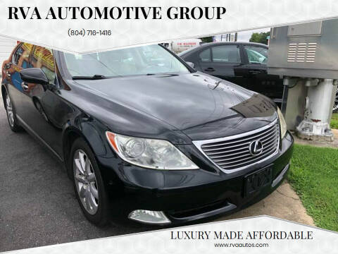 2009 Lexus LS 460 for sale at RVA Automotive Group in North Chesterfield VA