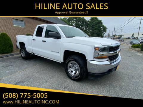 2016 Chevrolet Silverado 1500 for sale at HILINE AUTO SALES in Hyannis MA