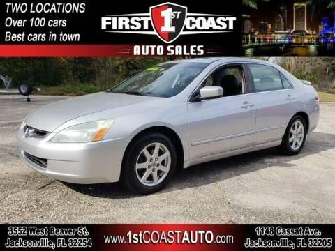 2004 Honda Accord for sale at 1st Coast Auto -Cassat Avenue in Jacksonville FL