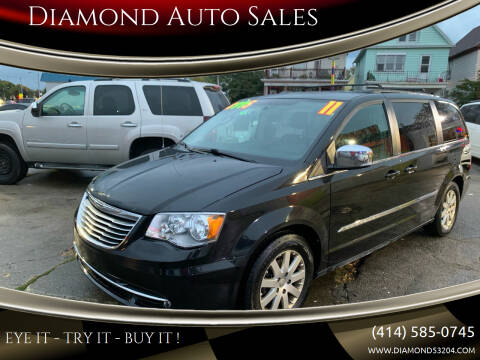 2011 Chrysler Town and Country for sale at Diamond Auto Sales in Milwaukee WI