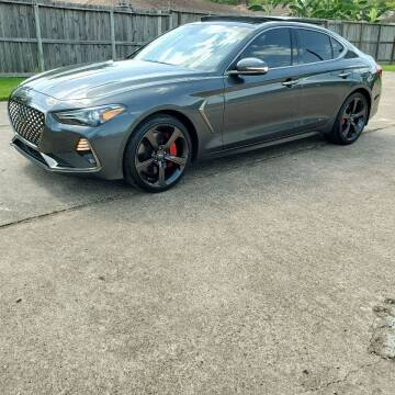 2019 Genesis G70 for sale at MOTORSPORTS IMPORTS in Houston TX