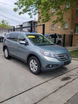 2012 Honda CR-V for sale at MACK'S MOTOR SALES in Chicago IL