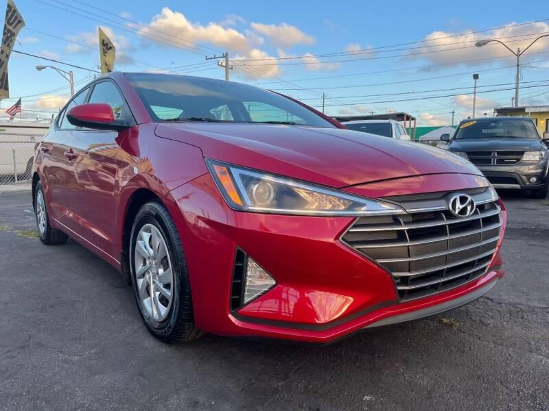 2020 Hyundai Elantra for sale at MIAMI AUTO LIQUIDATORS in Miami FL