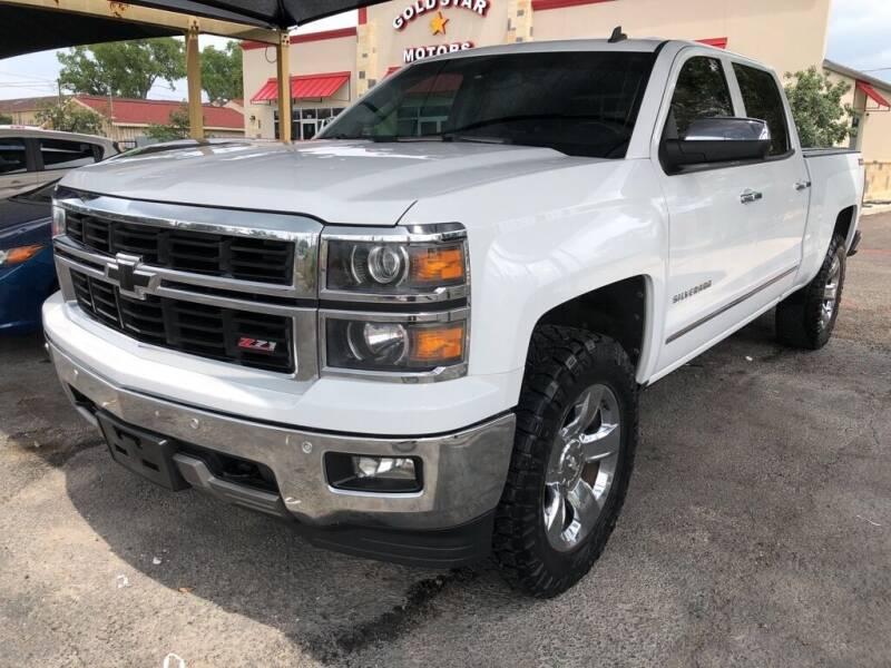 2014 Chevrolet Silverado 1500 for sale at Gold Star Motors Inc. in San Antonio TX