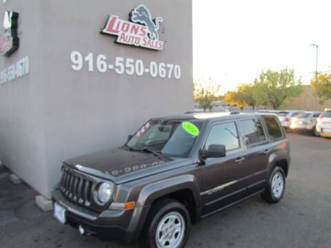 2014 Jeep Patriot for sale at LIONS AUTO SALES in Sacramento CA