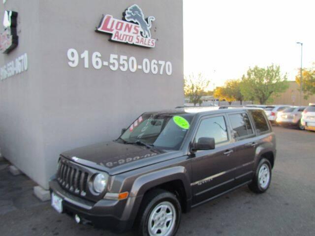 2014 Jeep Patriot for sale at LIONS AUTO SALES in Sacramento CA