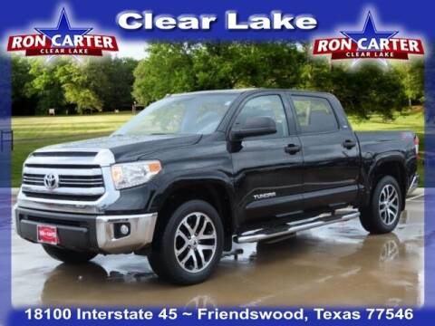 2017 Toyota Tundra for sale at Ron Carter  Clear Lake Used Cars in Houston TX