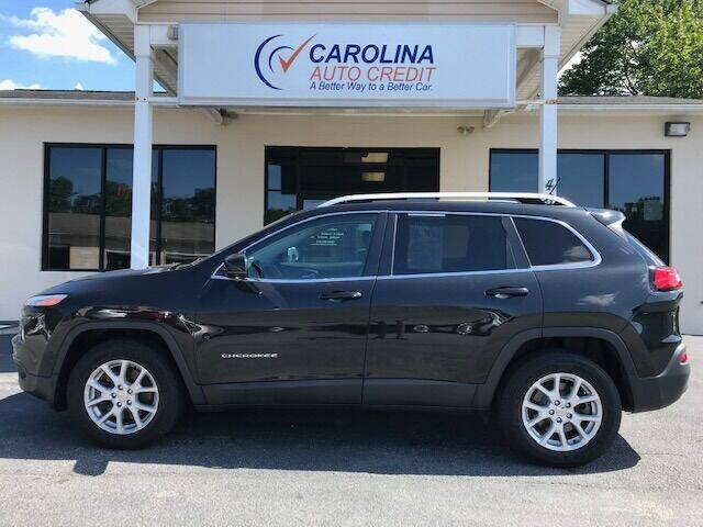 2016 Jeep Cherokee for sale at Carolina Auto Credit in Youngsville NC