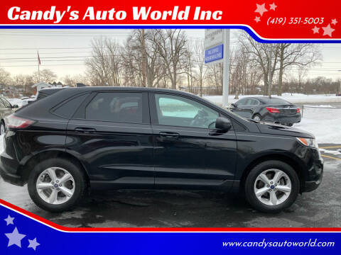 2018 Ford Edge for sale at Candy's Auto World Inc in Toledo OH