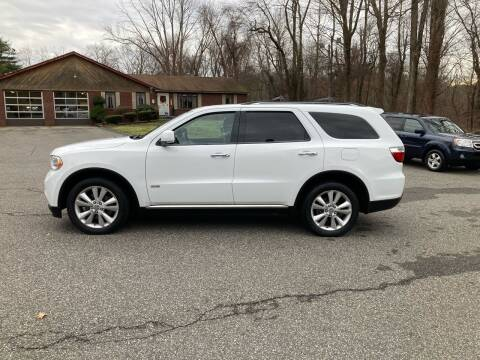 2013 Dodge Durango for sale at Lou Rivers Used Cars in Palmer MA