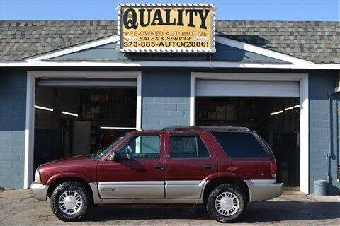 2000 GMC Jimmy for sale at Quality Pre-Owned Automotive in Cuba MO