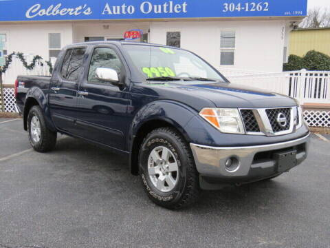 2006 Nissan Frontier for sale at Colbert's Auto Outlet in Hickory NC