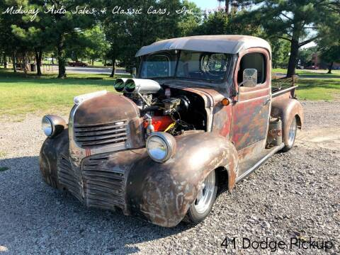 1941 Dodge Pickup for sale at MIDWAY AUTO SALES & CLASSIC CARS INC in Fort Smith AR