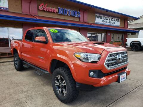 2016 Toyota Tacoma for sale at Ohana Motors - Lifted Vehicles in Lihue HI