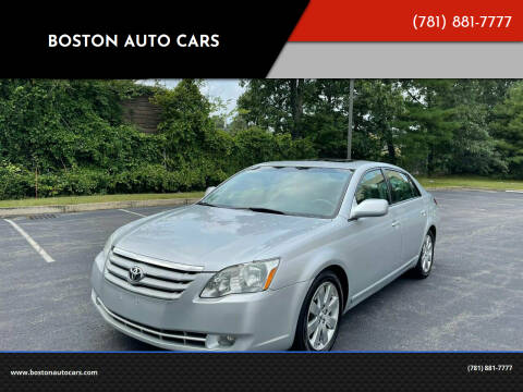 2006 Toyota Avalon for sale at Boston Auto Cars in Dedham MA