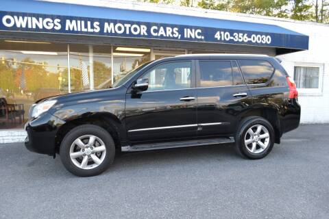 2012 Lexus GX 460 for sale at Owings Mills Motor Cars in Owings Mills MD