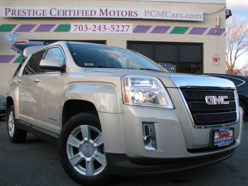 2010 GMC Terrain for sale at Prestige Certified Motors in Falls Church VA