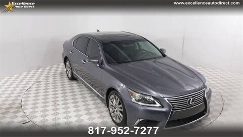 2016 Lexus LS 460 for sale at Excellence Auto Direct in Euless TX