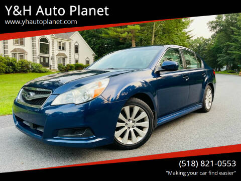 2010 Subaru Legacy for sale at Y&H Auto Planet in West Sand Lake NY