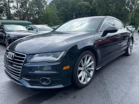 2012 Audi A7 for sale at GEORGIA AUTO DEALER, LLC in Buford GA