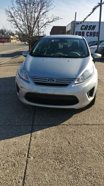 2012 Ford Fiesta for sale at Jarvis Motors in Hazel Park MI