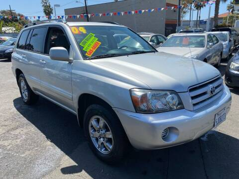 2004 Toyota Highlander for sale at North County Auto in Oceanside CA