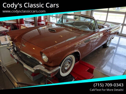 1957 Ford Thunderbird for sale at Cody's Classic Cars in Stanley WI