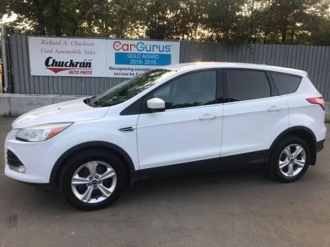 2013 Ford Escape for sale at Chuckran Auto Parts Inc in Bridgewater MA