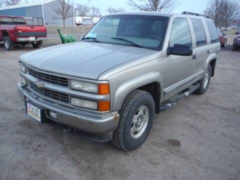 2000 Chevrolet Tahoe Limited/Z71 for sale at Car Corner in Sioux Falls SD
