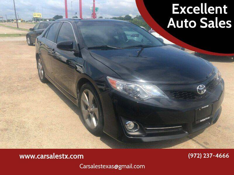 2014 Toyota Camry for sale at Excellent Auto Sales in Grand Prairie TX