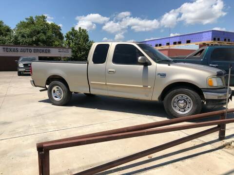 2000 Ford F-150 for sale at Texas Auto Broker in Killeen TX