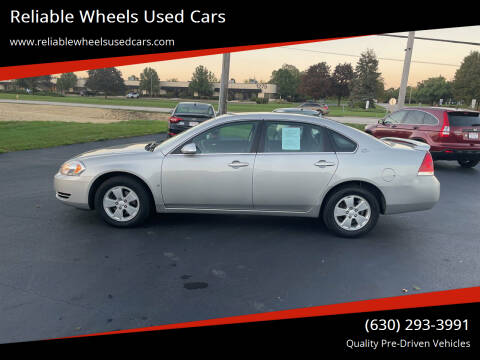 2008 Chevrolet Impala for sale at Reliable Wheels Used Cars in West Chicago IL