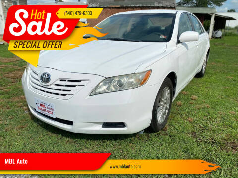 2007 Toyota Camry for sale at MBL Auto Woodford in Woodford VA