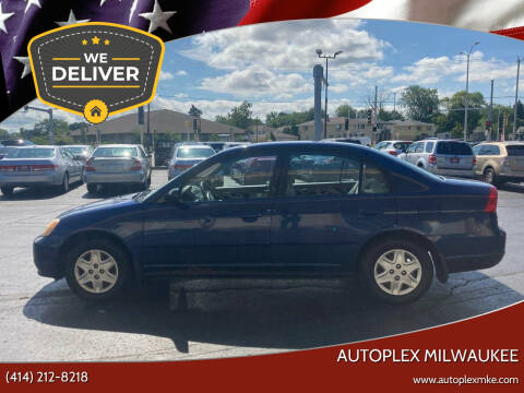 2003 Honda Civic for sale at Autoplex 2 in Milwaukee WI
